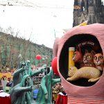 Karnevaalikulkue Kölnissä