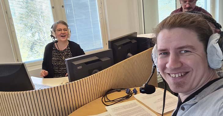 Antti Siukonen Radio Dein haastattelussa