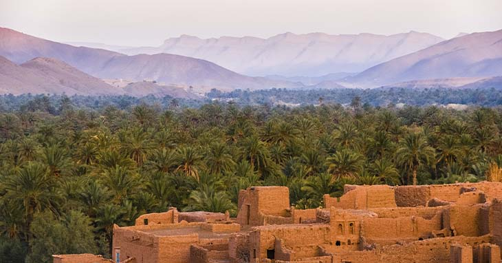 Näkymä Marokosta